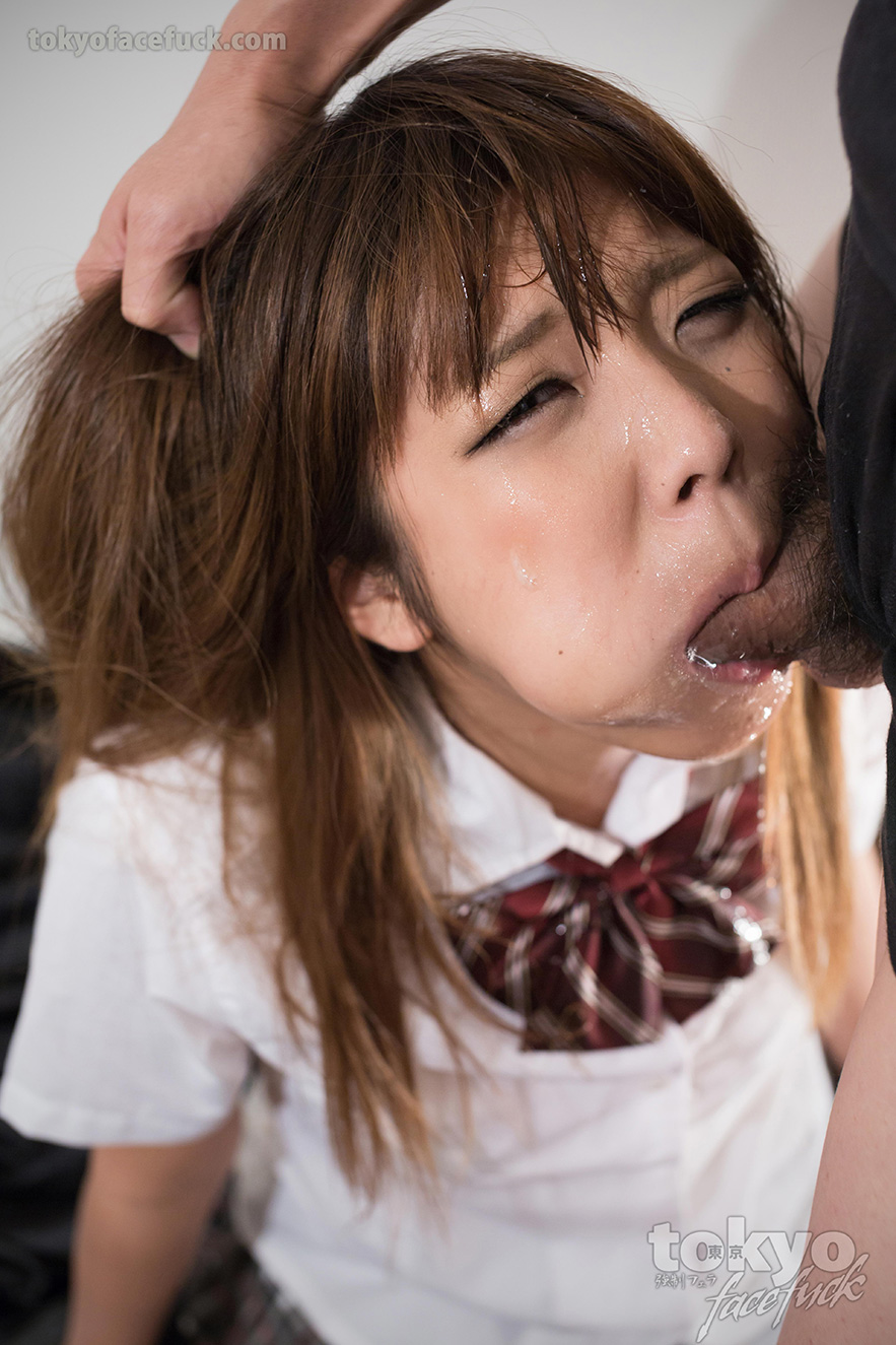 Hard deepthroat for japanese whore yumesaki kanon