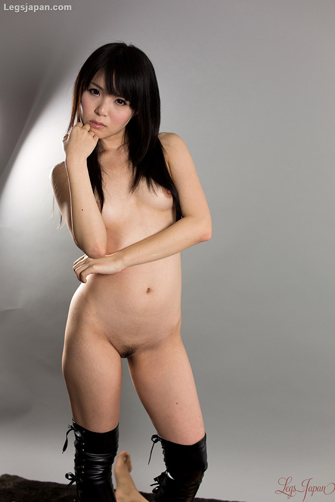 Can Naked japanese girl with thigh high socks