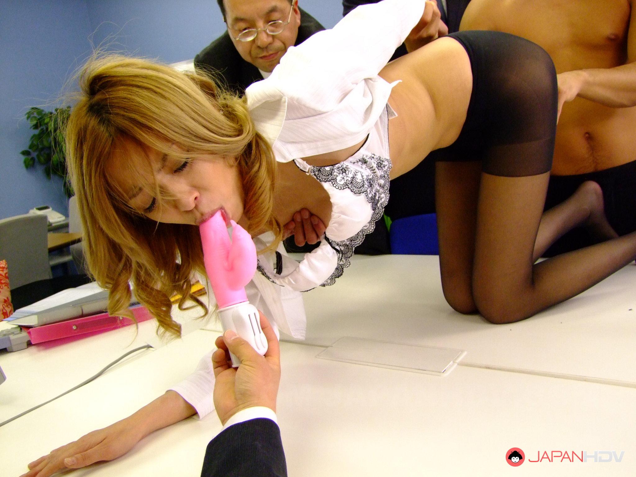 Japan office nasty sex