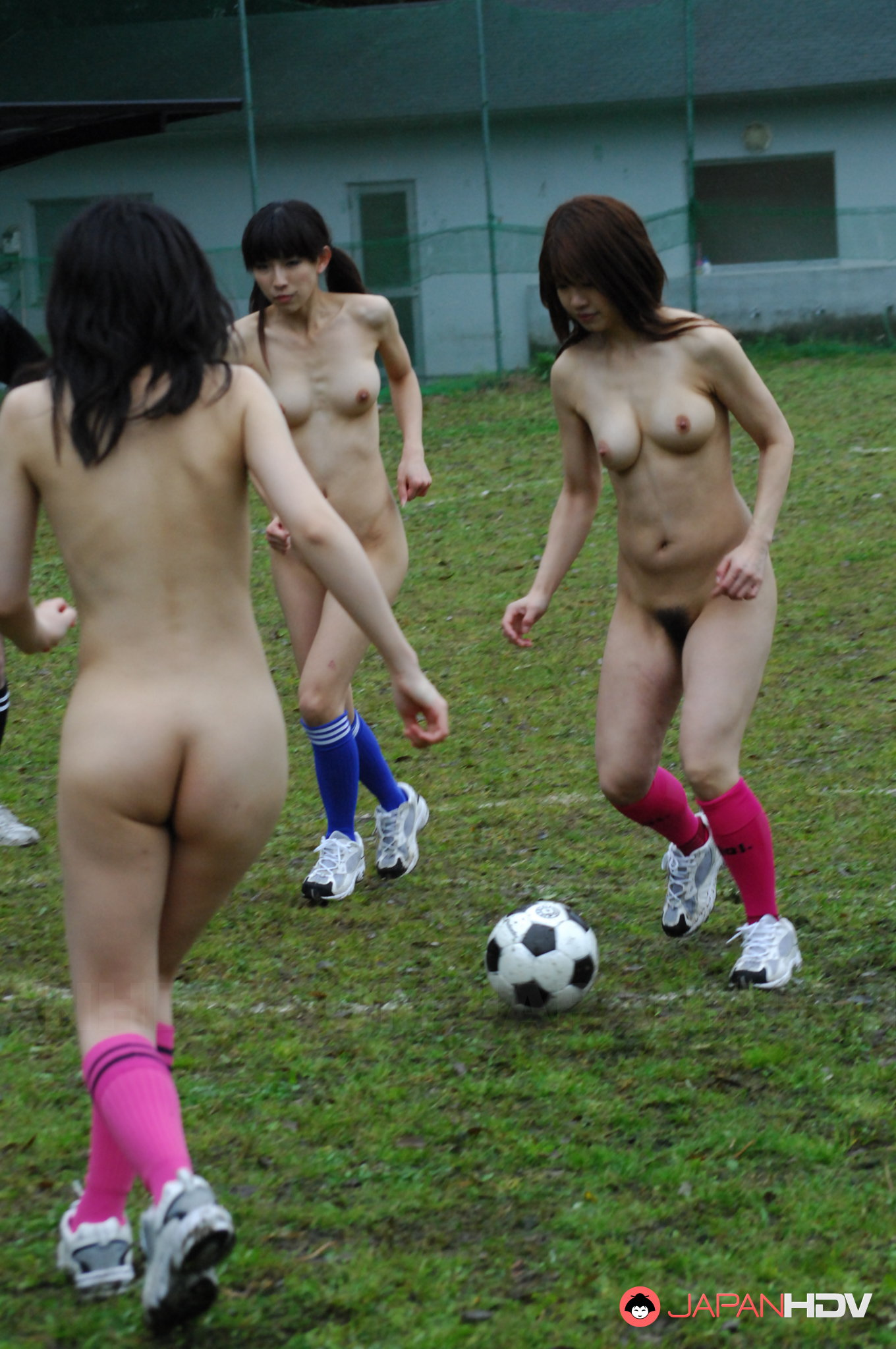 Sexy football hot playing naked girls have hit the