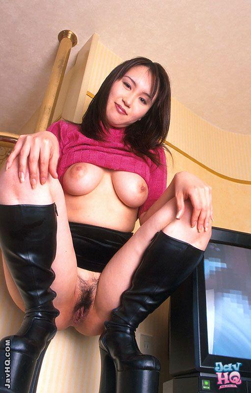 Dildo japanese pussy