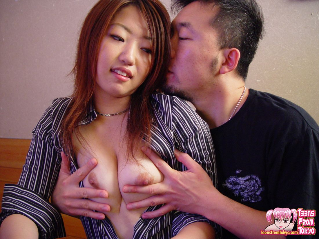 Porn of one boy with two girls